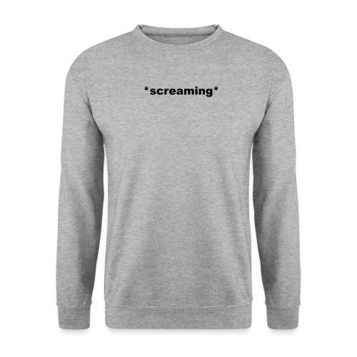 screaming - Männer Pullover