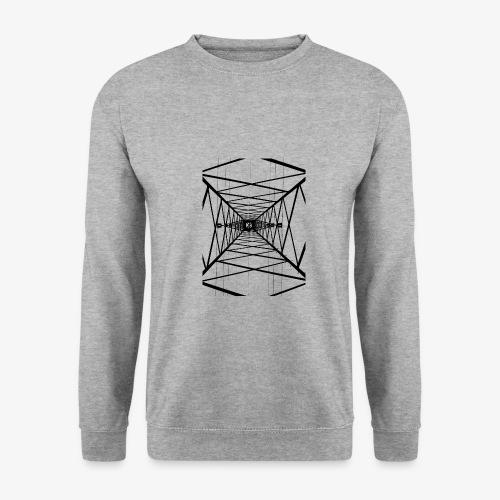 Hochmast V2 Schwarz - Männer Pullover