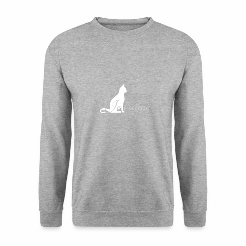 Chat blanc - Je t'aime - Sweat-shirt Homme