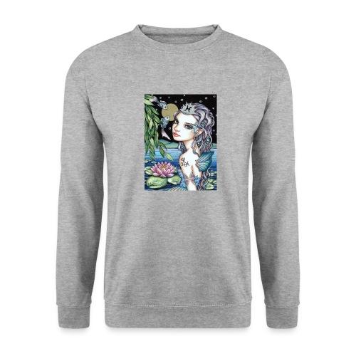 Pisces girl Fische Mädchen - Men's Sweatshirt