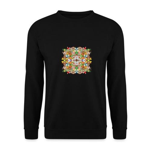 La foule de Noël s'amuse follement et à fond - Men's Sweatshirt