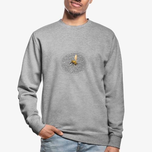 biene mit steienen - Unisex Pullover