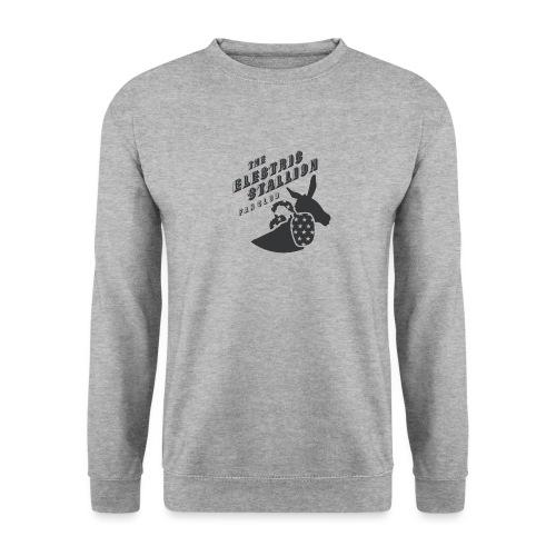 stallion badges - Men's Sweatshirt