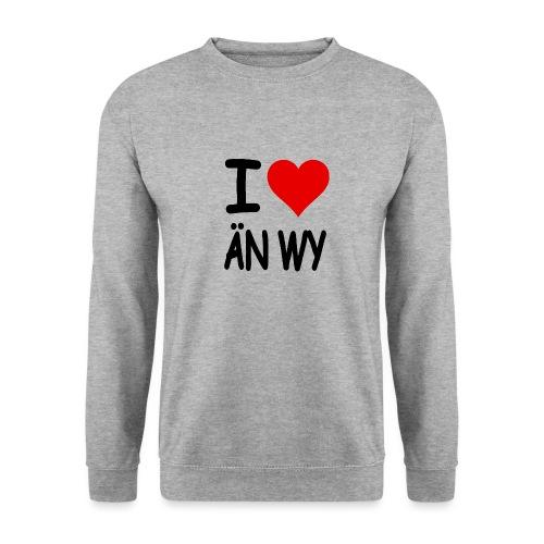 I Love ÄN WY lustige Alternative zum Bekannten - Männer Pullover