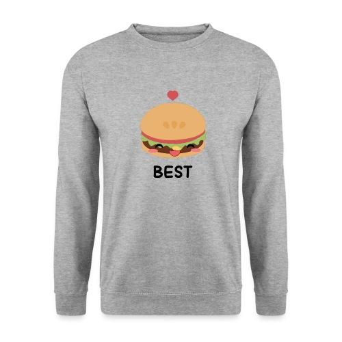 hamburger - Felpa da uomo