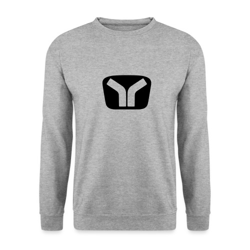 Yugo Logo Black-Transparent Design - Unisex Sweatshirt