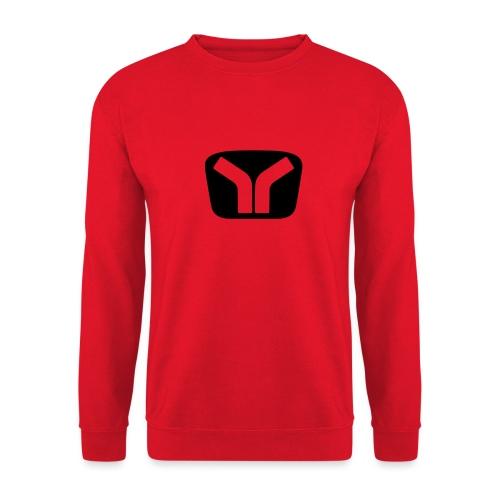 Yugo Logo Black-Transparent Design - Unisex Sweatshirt