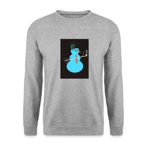 Hockey snowman - Unisex svetaripaita
