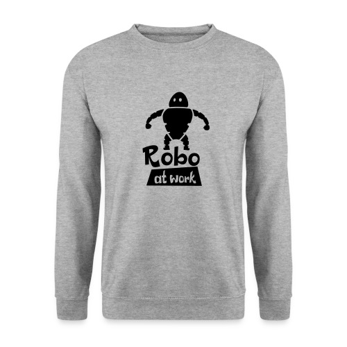 robot at work - Unisex Pullover