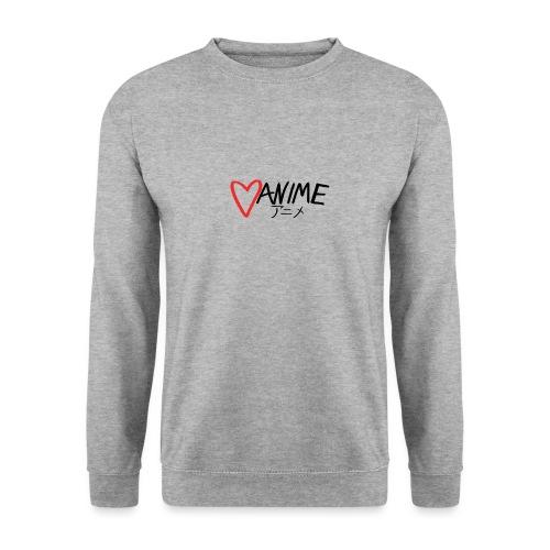 Heart Anime - Men's Sweatshirt