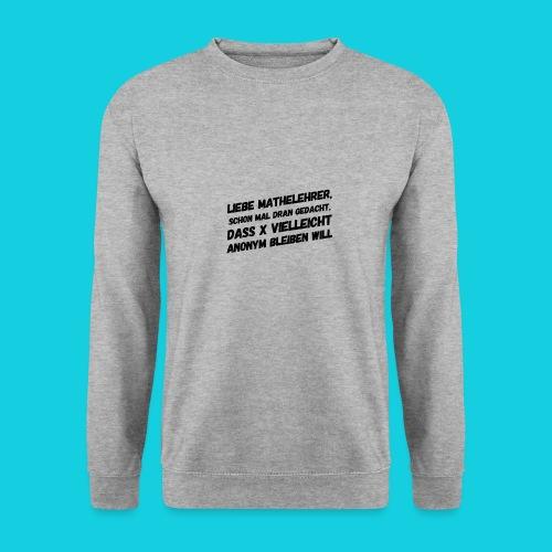 Das Mathegenie - Unisex Pullover