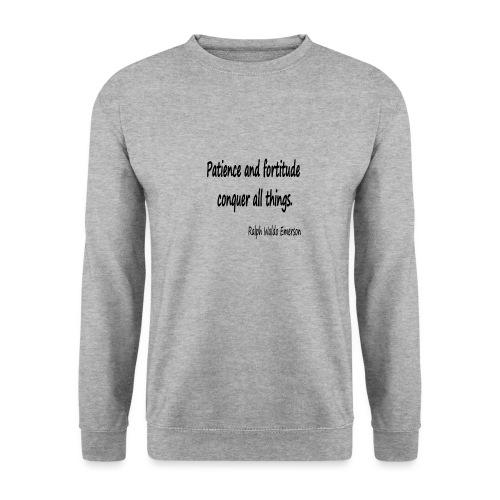 Peace and Patience - Unisex Sweatshirt