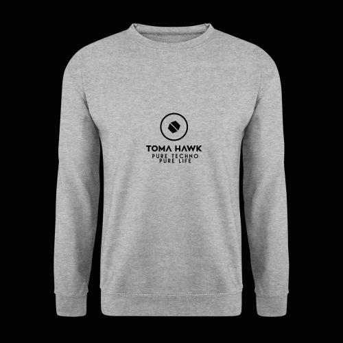 Toma Hawk - Pure Techno - Pure Life Black - Männer Pullover
