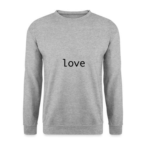 love - Herrtröja