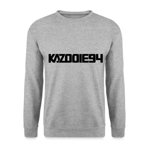 Kazooie94 text logo - Men's Sweatshirt