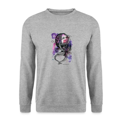 octopus oktopus portrait by carographic - Unisex Pullover