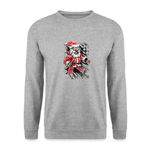 Robot Santa Claus - Men's Sweatshirt