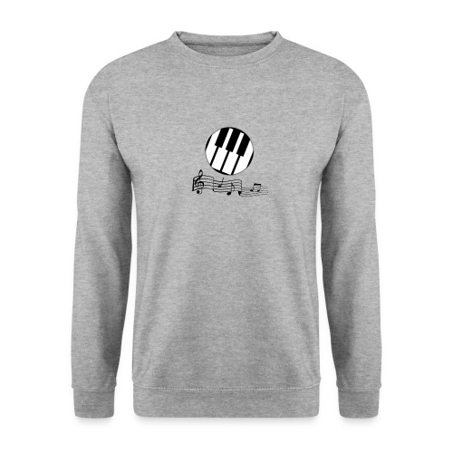 Le piano roulant. - Sweat-shirt Unisex