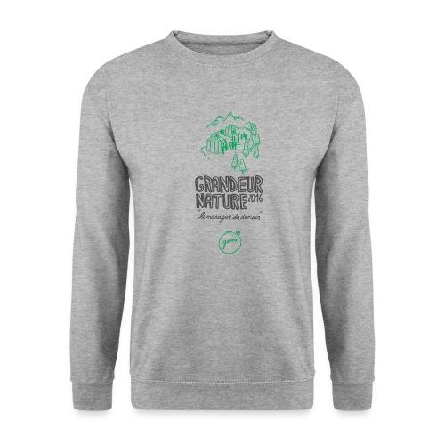 GN-montagnes-logo-titre-T - Sweat-shirt Homme