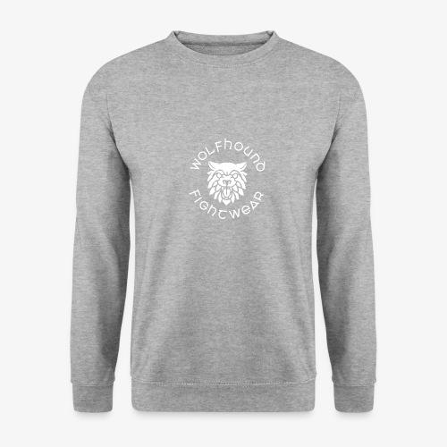 logo round w - Unisex Sweatshirt