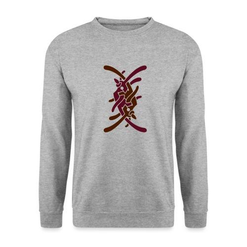 Stort logo på ryg - Unisex sweater