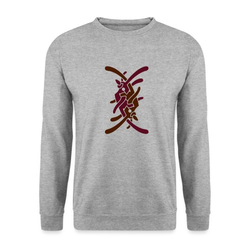 Stort logo på bryst - Unisex sweater