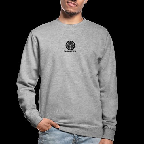 tokugawa mon with title - Unisex Sweatshirt
