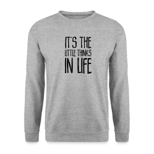 It´s the little thinks - Männer Pullover