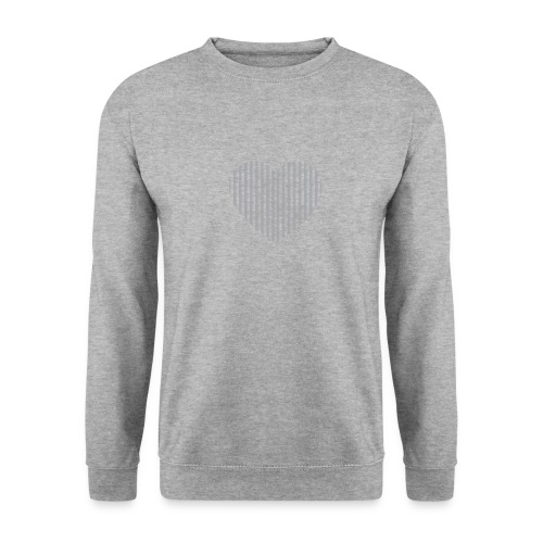 heart_striped.png - Men's Sweatshirt