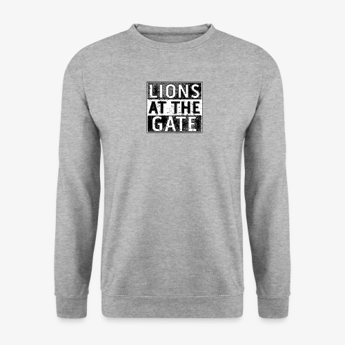 LIONS AT THE GATE BAND LOGO - Unisex sweater