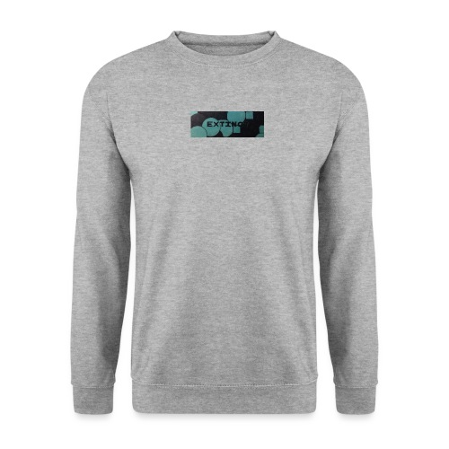 Extinct box logo - Men's Sweatshirt