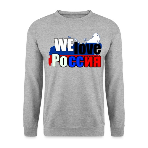 We love Russia! Putin / Russian - Männer Pullover