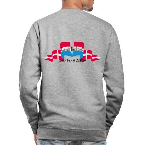 Danish Truckspot, ONLY WAY IS DANISH - Unisex sweater