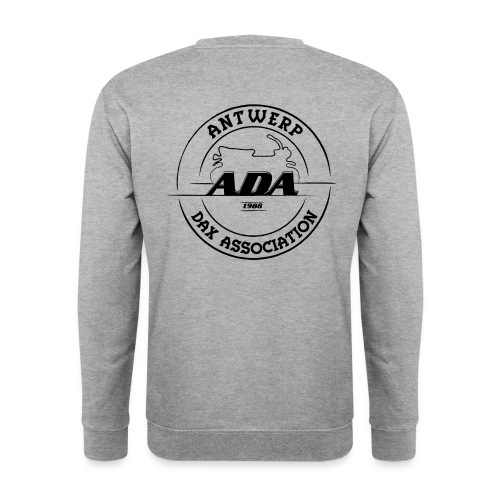 ADA DAX Logo Groot Zwart - Unisex sweater