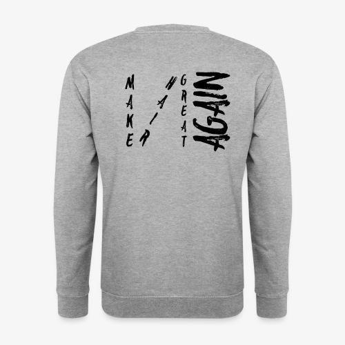 MHGA Diagonal BLACK Logo - Männer Pullover