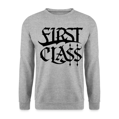 First Cla black - Unisex Pullover