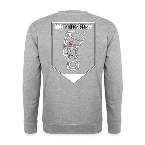 Motomaniac's Weißes Design - Männer Pullover