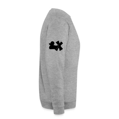 Ente mit X v3 3 klein - Unisex Pullover