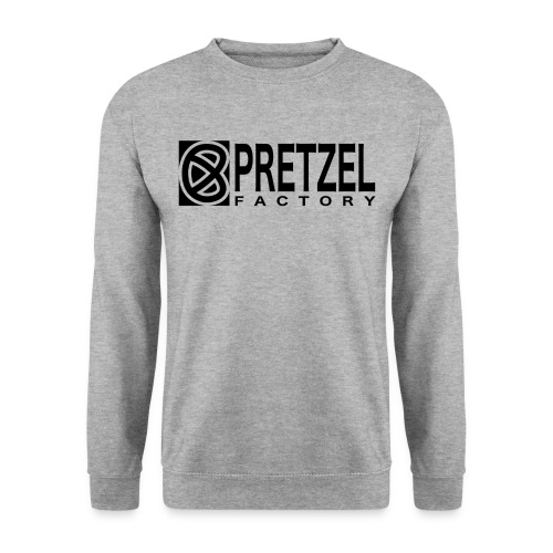 Pretzel Factory Logo Noir - Sweat-shirt Unisexe