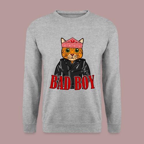 Bad boy chat roux rockeur - Sweat-shirt Unisexe