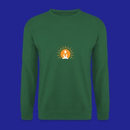 Guramylyfe logo white no text - Unisex Sweatshirt