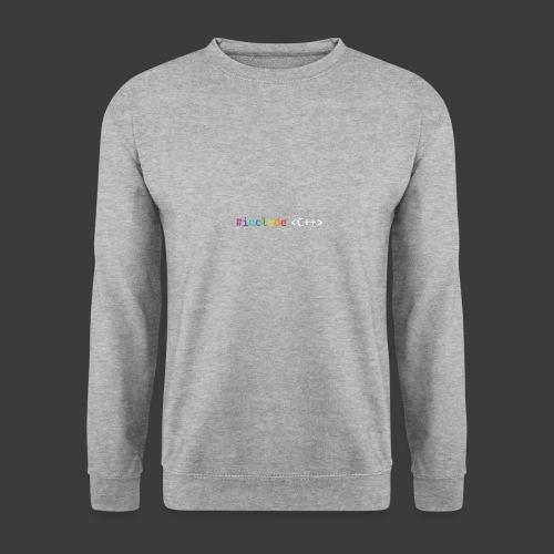 rainbow for dark background - Unisex Sweatshirt
