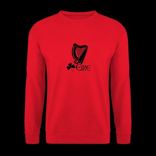 Irish Harp and Shamrock - Unisex Sweatshirt
