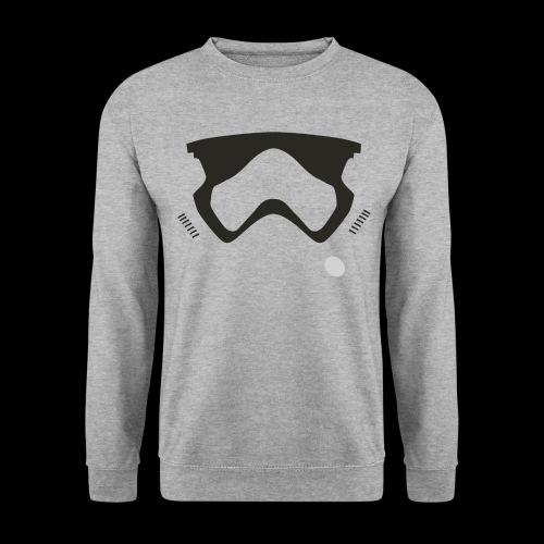 Modern Stormtrooper Face - Unisex Sweatshirt