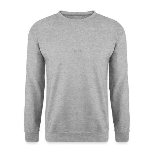 Boor design black x David - Unisex sweater