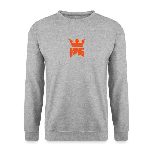 Single logo white - Unisex Sweatshirt