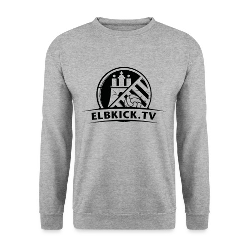 Elbkick_Schwarz_3200x2400 - Unisex Pullover