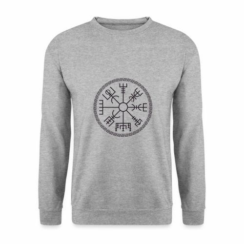 Vegvisir wayfinder viking compass - Unisex svetaripaita