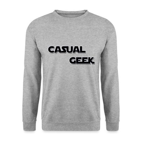 CasualGeek Standard Logo - Unisex Sweatshirt