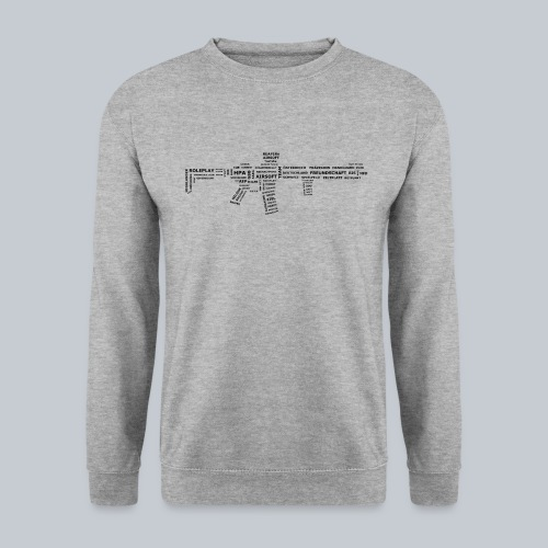 TXT RIFLE (BLACK) - REAPERs Airsoft - Unisex Pullover